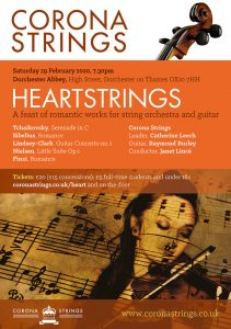Corona Strings Poster Heartstrings