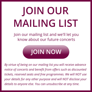 Join mailing list banner